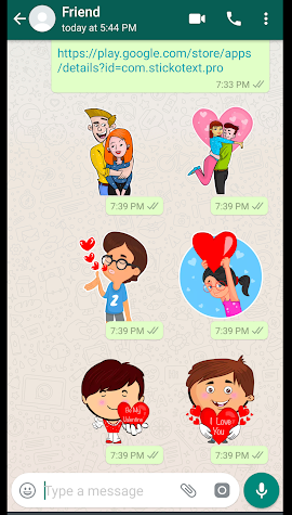 StickoText Pro - Stickers For WAStickerApps Screenshot
