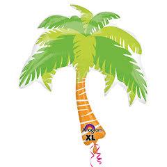 Folieballong, palm