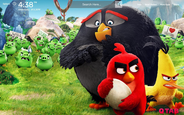 Angry Birds Movie Wallpapers Hd Theme