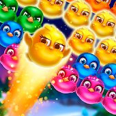 Bubble Birds V - Color Birds Shooter