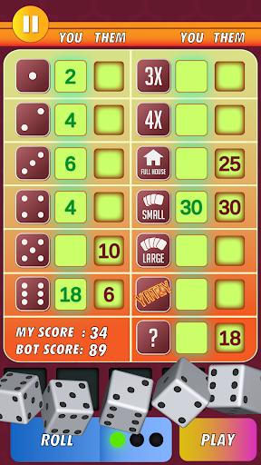 Yatzy Classic Dice Game - Offline Free 3.1 screenshots 3