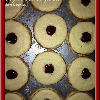 Jam Cookies / Jam Filled Cookies / Cookies with Jam Recipe