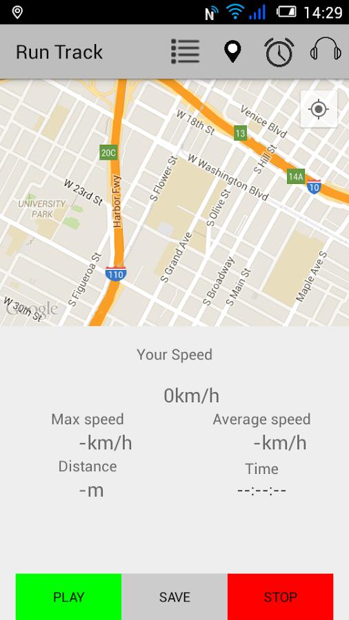 RunTrack - στιγμιότυπο οθόνης