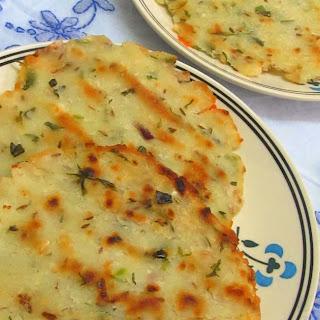 Akki Rotti/Rice Roti