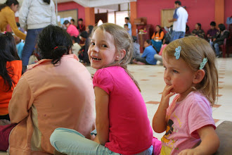 Photo: Anne and Addi at a kids event at church