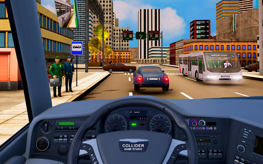 Airport Security Staff Police Bus Driver Simulator 1.0 screenshots 3