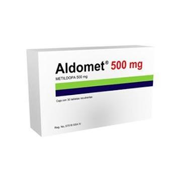 Aldomet 500Mg Tabletas Caja