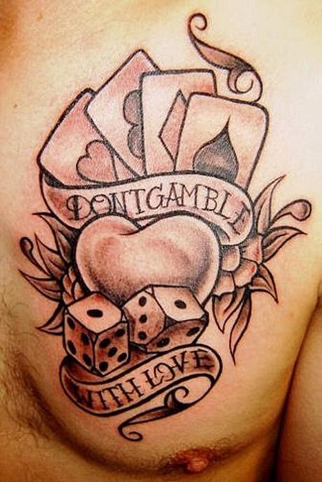 Gambling with love. Image source. Tattooswin