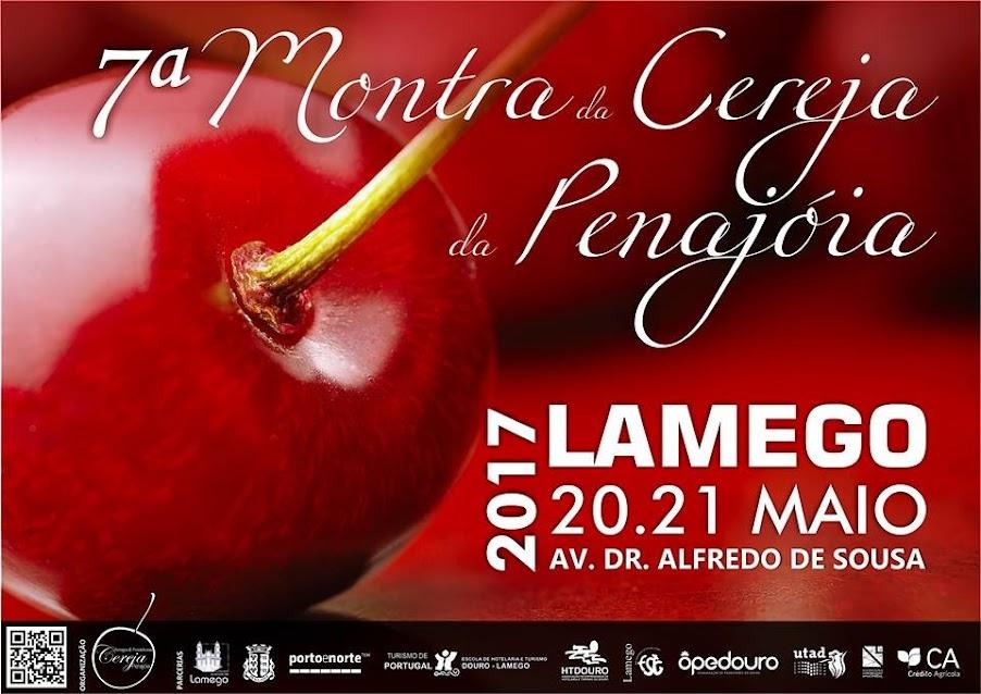 Lamego promove Montra da Cereja da Penajóia a 20 e 21 de maio