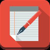 simple advise memo notepad
