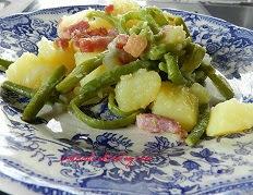 Potée aux haricots ou salade Liégeoise