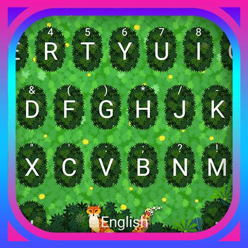 Secret Garden Theme&Emoji Keyboard