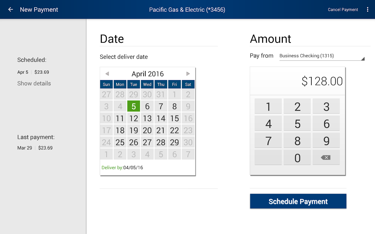 FAIRWINDS Mobile Banking- screenshot