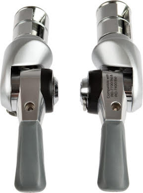 Shimano Dura-Ace SL-BS77 Double/Triple Bar End Shift Levers alternate image 2
