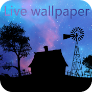 Beautiful NightFall Live Wallpaper