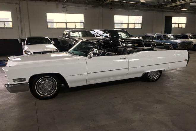 1967 Cadillac DeVille Convertible Hire Los Angeles
