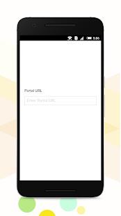 Zoho Creator Portal - náhled