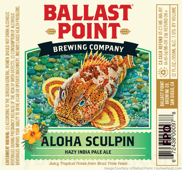 Logo of Ballast Point Aloha Sculpin