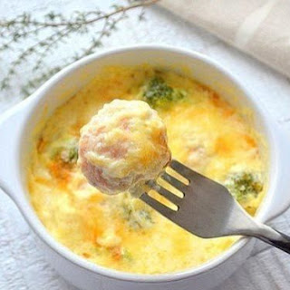 Fish Meatballs In A Creamy Sauce.