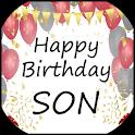 Happy Birthday Son icon