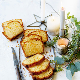 Clementine Drizzle Loaf.
