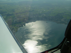 Photo: The sun is playing with the water of the Lake Constance http://www.swiss-flight.net