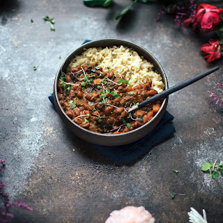 Smoky Vegetarian Red Beans and Rice