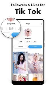 App Followers Likes MyPic Lyrical Video for tik tok APK for Windows Phone