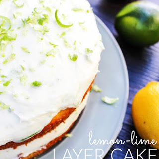 Lemon-Lime Layer Cake