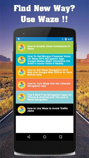 Download Guide map waze gps navigation Google Play softwares