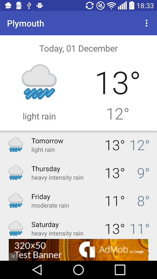 Plymouth Uk Weather Android Apps On Google Play