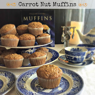 Carrot Nut Muffins.