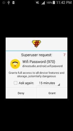 Wifi Password [Root] 2.8.3.1 screenshots 2