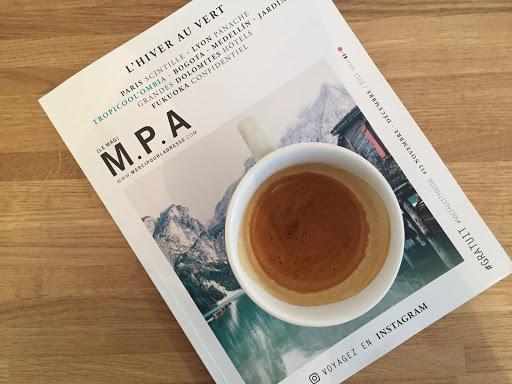 Book and espresso