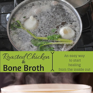 Homemade Bone Broth / Chicken Stock