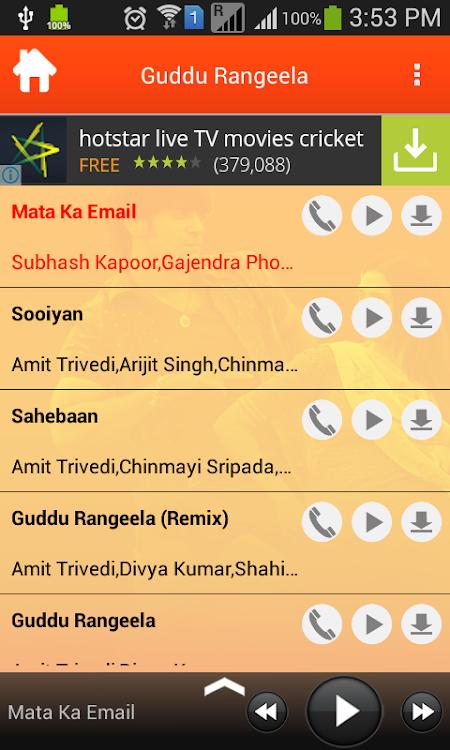 Guddu Rangeela Movie Songs – (Android Apps) — AppAgg