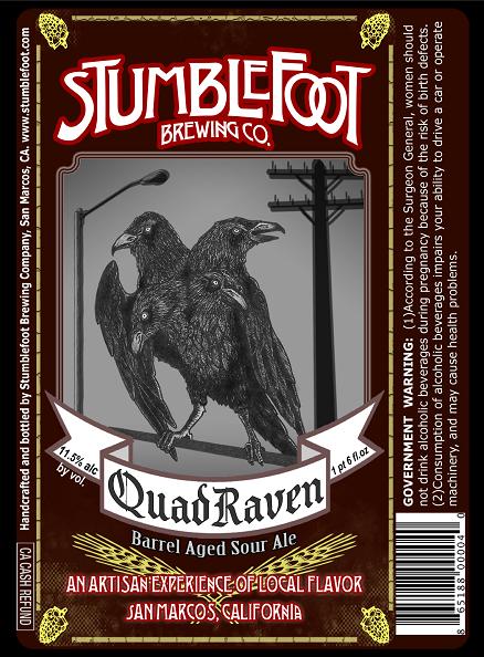 Logo of Stumblefoot Quad Raven