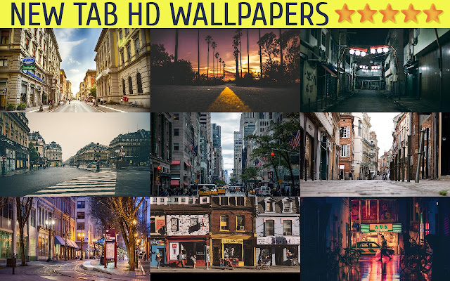 New Tab HD Wallpapers - Streets