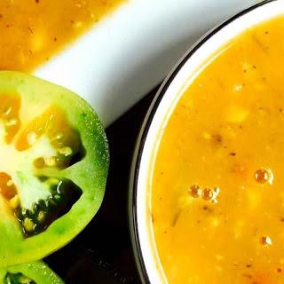 Lemongrass Tomato Corn Soup