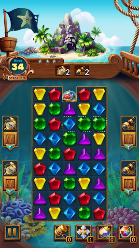 Jewels Fantasy : Quest Temple Match 3 Puzzle 1.6.7 screenshots 15