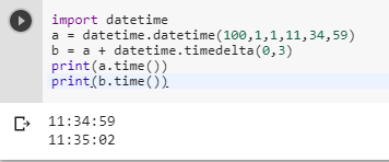 What is the standard way to add N seconds to datetime time