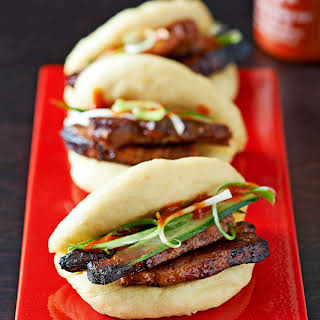 Steamed Pork Buns (Hirata Buns).