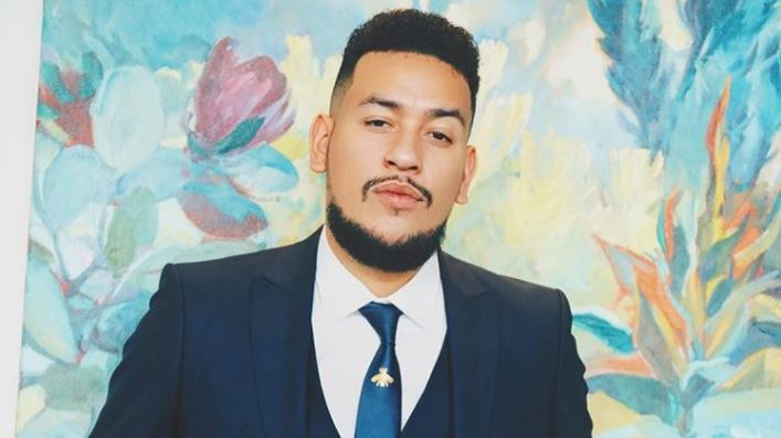 Rapper AKA was dragged for posting a lyric about heartbreak.