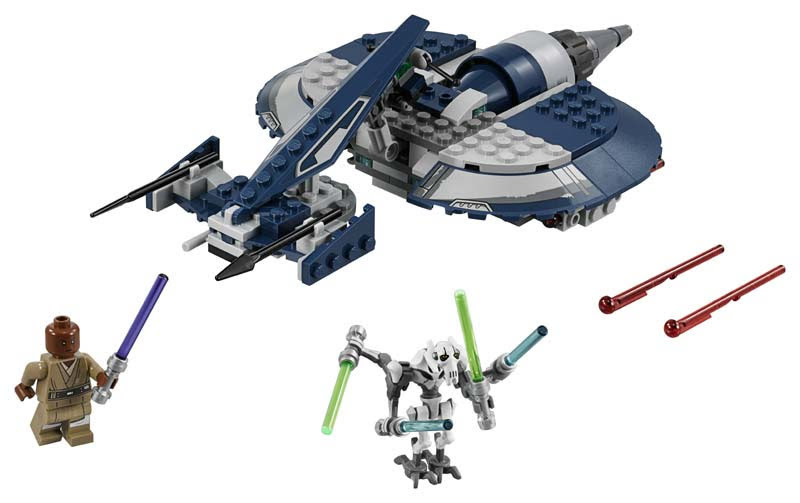 Contenido de Lego® 75199 Speeder de Combate del General Grievous