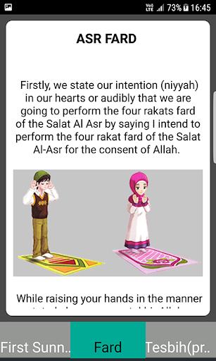Salah Guides With Pictures All Salahs Prayer screenshot 4