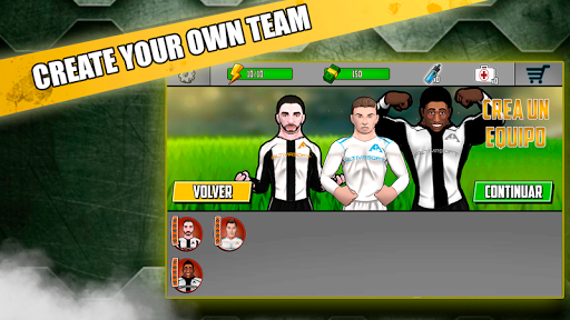Free soccer game 2018 - Fight of heroes 1.6 screenshots 8
