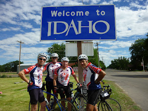 Photo: Day 8 Baker OR to Fruitland ID 84 miles 2180 ' climbing  : Crossed the Snake River into Payette, ID