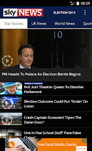 Sky News - screenshot thumbnail