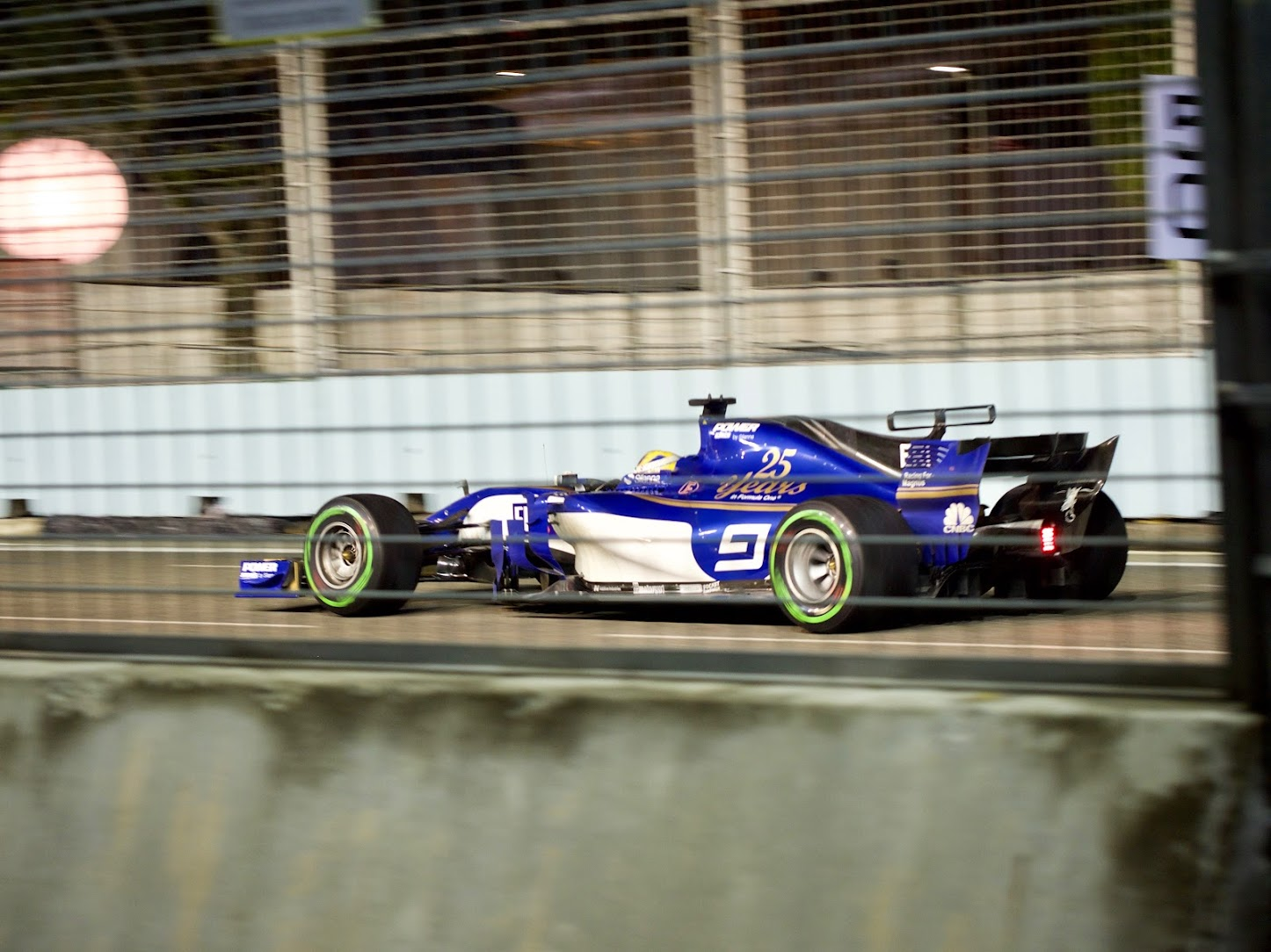 Singapore GP 2017 Race