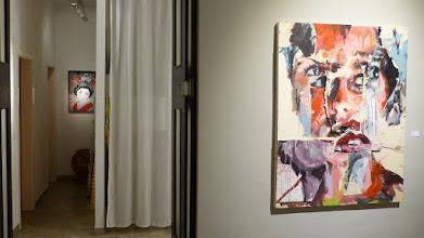 Photo: Galerie 30Works; Sushi Connection; Solo Show MITTENIMWALD; Salvador Ginard; o.T. & Geisha Airi IV